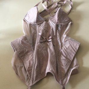 Other - Rose gold lace VICTORIAS SECRET corset/bustier